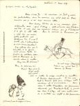 René Chambe - Lettre à Jo du 1er mars 1917 - détail