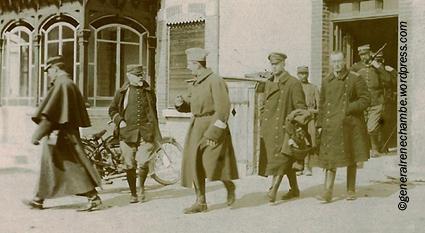 René Chambe - 2 avril 1915 interrogatoire des prisonniers allemands