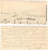 René Chambe - Escadrille D6 Dessin janvier 1915 - 1