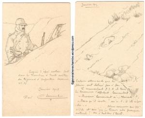 Dessins 1 janvier 1915
