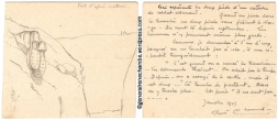 René Chambe - Escadrille D6 Dessin janvier 1915 - 2