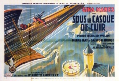 René Chambe - film Sous le casque de cuir affiche 1