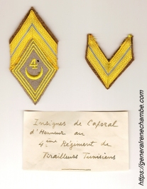 René Chambe - Caporal honoraire 4e RTT