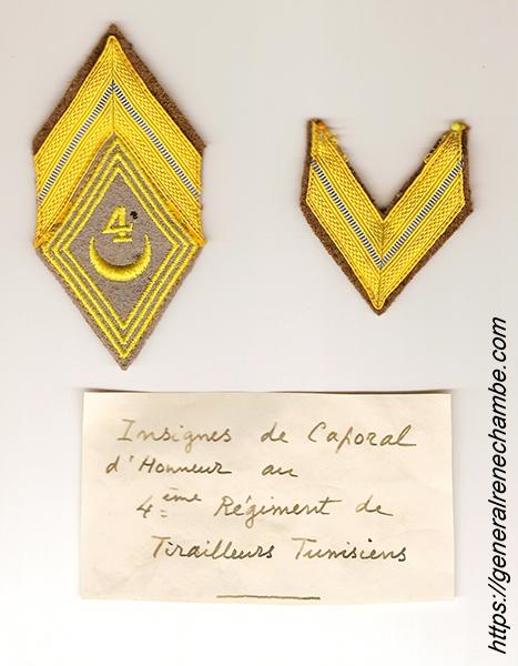 René Chambe -Caporal honoraire 4e RTT