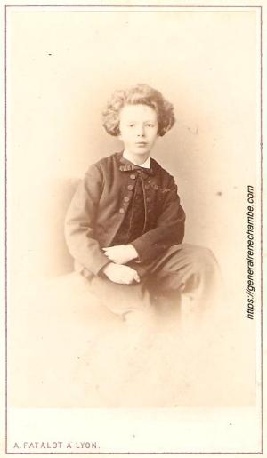 René Chambe - Emile Chambe 1870