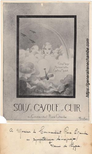 René Chambe - film sous le casque de cuir illustration maurice de lippe