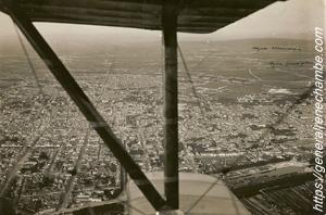 René Chambe - N 12 - A bord d'un Bébé Niueport au-dessus de Reims 1916