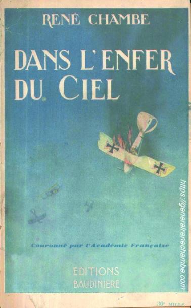 René Chambe - Dans l'enfer du ciel 1933