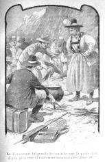 René Chambe - Emile Chambe Au faite de la terre 1899 - illustration