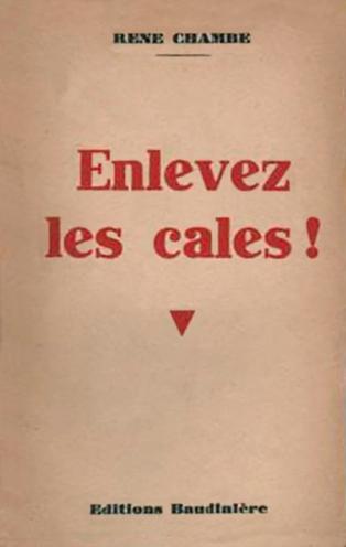René Chambe - Enlevez les cales Ed Baudinière 1947-1 Grand Prix de l'Aéro-Club de France 1936