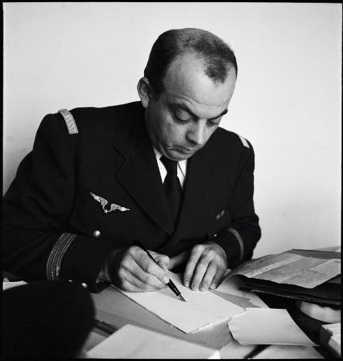 René Chambe - capitaine Antoine de Saint-Exupéry c1940