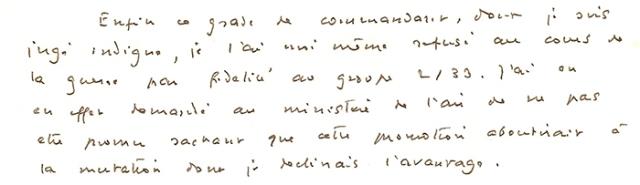 René Chambe - lettre de Saint-Exupéry extrait 1