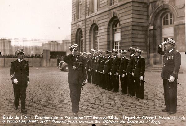 René Chambe - Directeur des Etudes Ecole de l'Air 1937