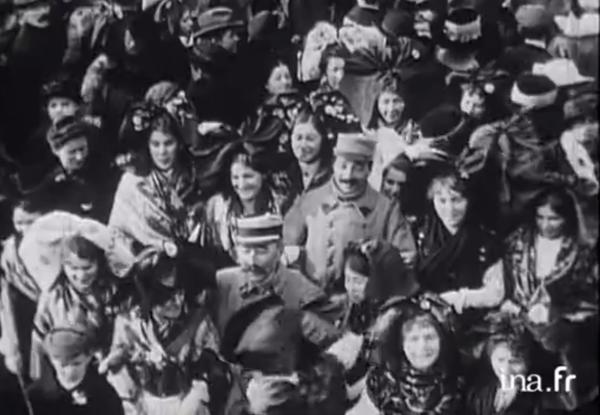 René Chambe - Strasbourg 22 novembre 1918 -6 INA