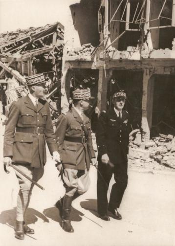 René Chambe - Tunisie Giraud Juin Bizerte 1943