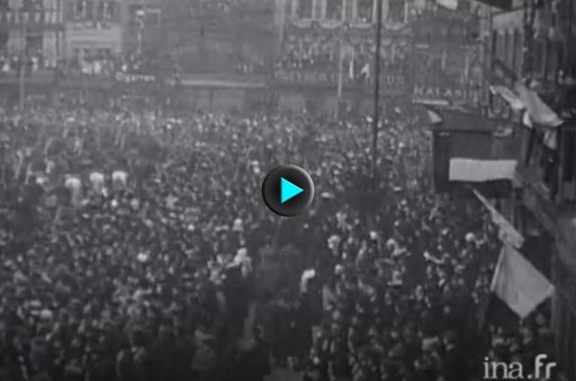 Strasbourg 1918 INA