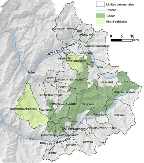 Parc national Vanoise après charte 2015