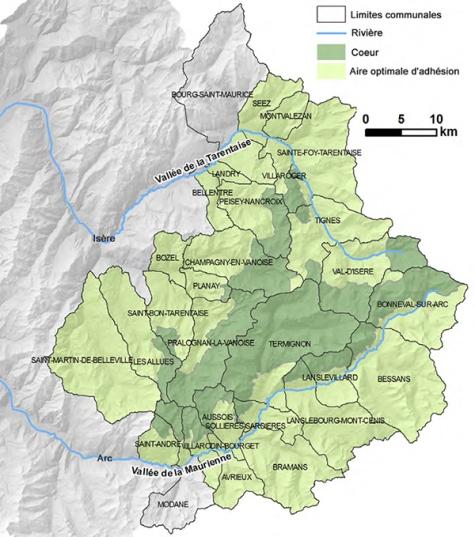 Parc national Vanoise avant charte 2015