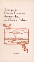 René Chambe - Cloches françaises clocher Alsace - Niedernai - 1922
