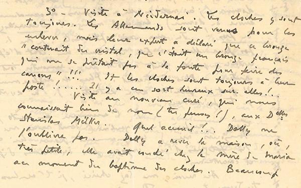 René Chambe Niedernai - Lettre à Suzanne 6 février 1945