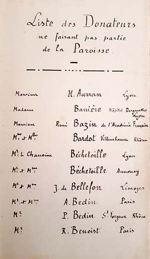 René Chambe - René Bazin Niedernai cloches livre d or - 1923