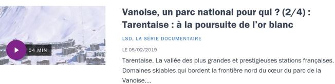 Vanoise 2-4 France Culture