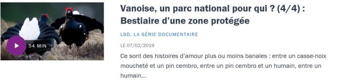 Vanoise 4-4 France Culture