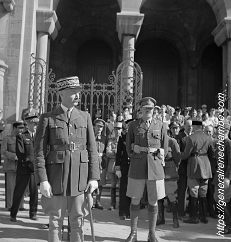 René Chambe - avec Giraud Tunis 20 mai 1943