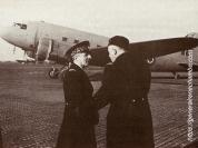 René Chambe - avec le général Bouscat janvier 1944