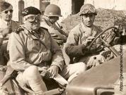 René Chambe - avec le général Juin CEF Italie 1944