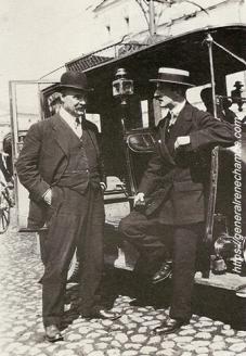 René Chambe - avec Paul Pléneau Moscou août 1916