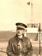 René Chambe - commandant 35e esc Lyon Bron 1938