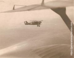René Chambe - pilote un Potez 25 Verdun sur le Doubs 1929