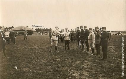 René Chambe - remise chevalier légion honneur 8 avril 1915