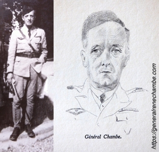 René Chambe - uniforme campagne général aviation