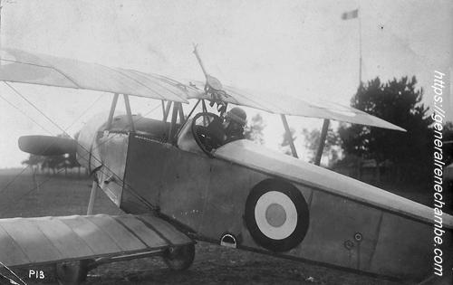 René Chambe 1re GM pilote N 12 Nieuport