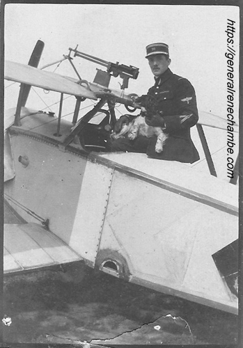 René Chambe - 1re GM pilote N 12 chien escadrille