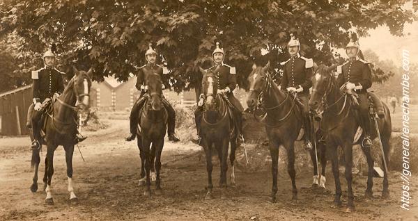René Chambe - ami Jean de Poret 30e Dragon à Sedan juillet 1914