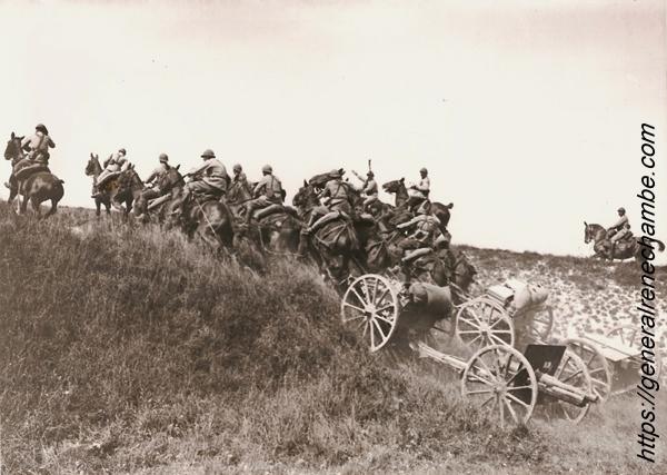 René Chambe - cavaliers 1914