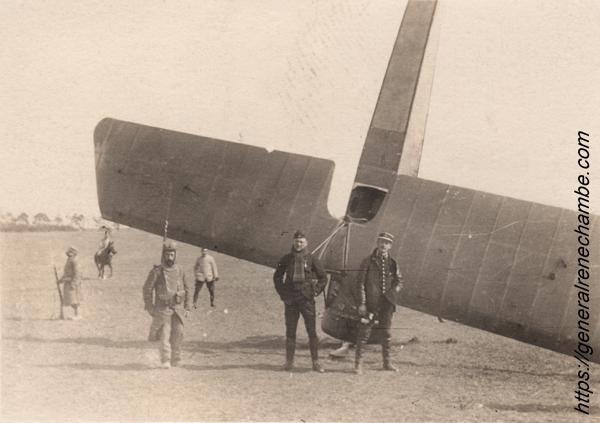 René Chambe - Pelletier Doisy Morane Saulnier victoire aérienne 2avril1915