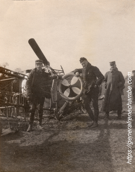 René Chambe - Pelletier Doisy victoire aérienne 2avril1915