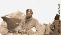 René Chambe - Roumanie cjanvier 1917 Raccaciuni prisonnier allemand