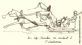 René Chambe - Roumanie croquis à Raccaciuni mars1917