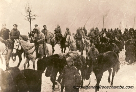 René Chambe - Roumanie Division Sauvage russe en hiver 1916-17