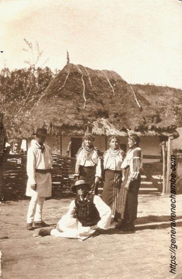 René CHambe - Roumanie Fundul di Raccaciuni 1917