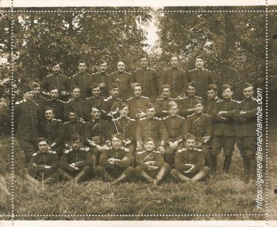 René Chambe - son peloton du 20e Dragon oct1914